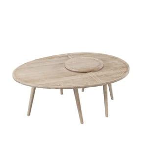 2-częściowy stolik z drewna dębowego Wewood-Portuguese Joinery Colombo