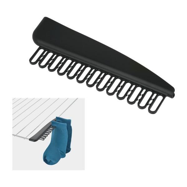 Zestaw 2 uchwytów na skarpetki do suszarki na pranie Metaltex
