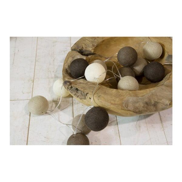 Misa na owoce z drewna tekowego HSM Collection Mara, 20 cm