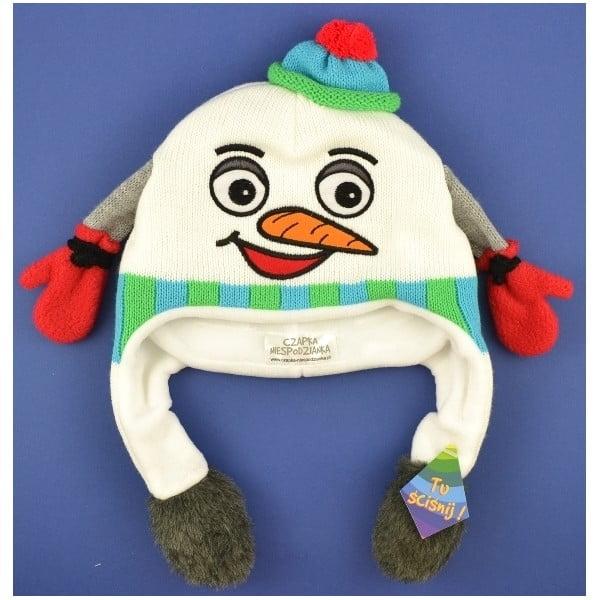 Czapka dziecięca Snowman