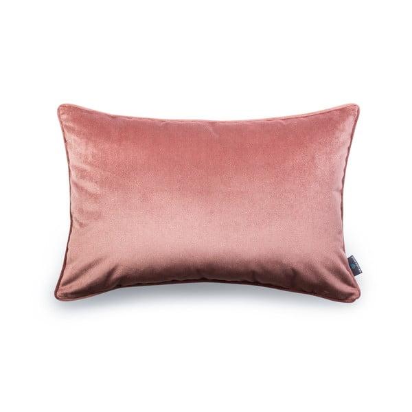 Różowa poszewka na poduszkę WeLoveBeds Heard Wood, 40x60 cm