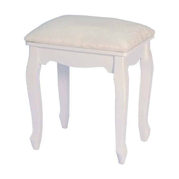 Taboret White Elegance