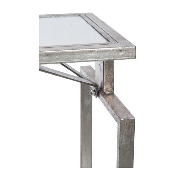 Stolik Metal Silver