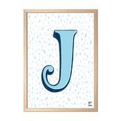 Plakat J designed by Karolina Stryková