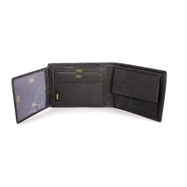 Skórzany portfel Lois Stamp, 11x8 cm