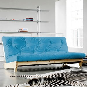 Sofa rozkładana Karup Fresh Natural/Horizon Blue