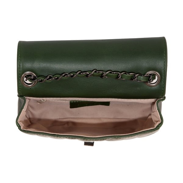 Skórzana torebka Andrea Cardone 2030 Green