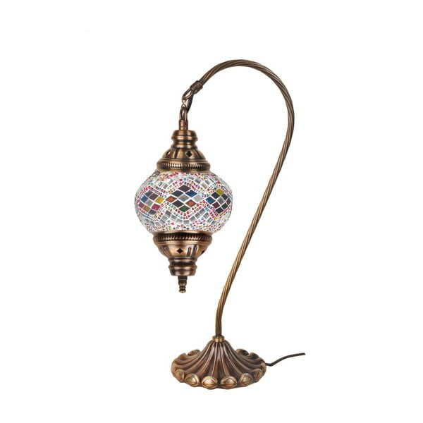 Szklana lampa Fishing XV, 13 cm