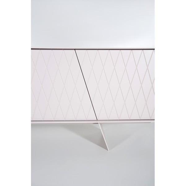 Stolik pod TV E-klipse Lacquered AL2, 180cm