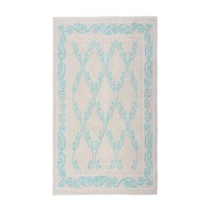 Dywan Kijakazi Turquoise Cream, 100x200 cm
