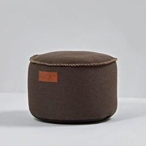 Puf RETROit Drum Indoor Dark Brown