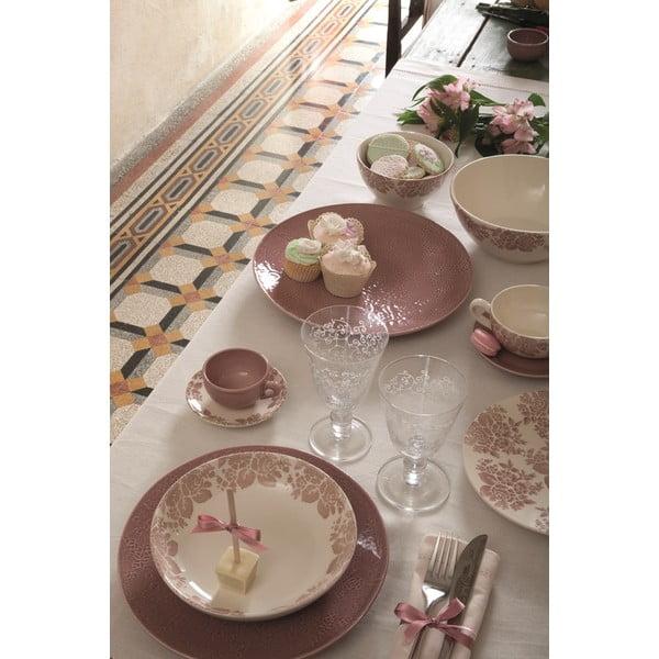Zestaw 6 talerzy deserowych Algarve Cipria