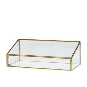 Szklana szkatułka Hübsch Leonor