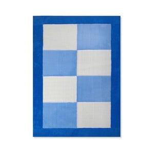 Dywan dziecięcy Mavis Blue Checks, 100x150 cm