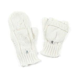 Białe rękawiczki Holly