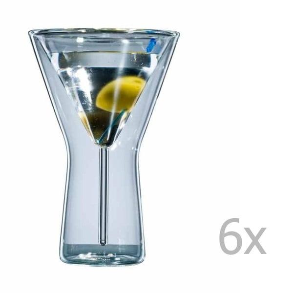 Zestaw   6 szklanek bloomix Martini