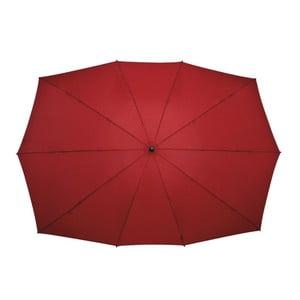 Prostokątny parasol dla 2 osób Ambiance Falcone Red