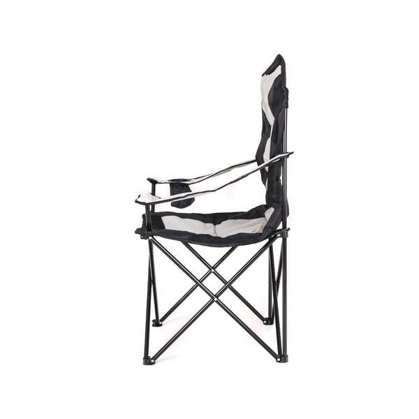 Krzesło wędkarskie Korfu, szare