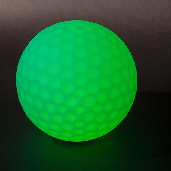 Nastrojowa lampa ogrodowa Golfball, 25 cm
