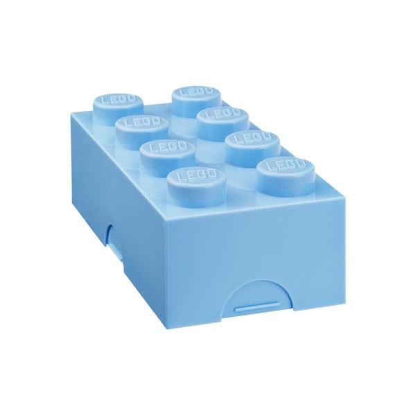 Jasnoniebieski pojemnik śniadaniowy LEGO®
