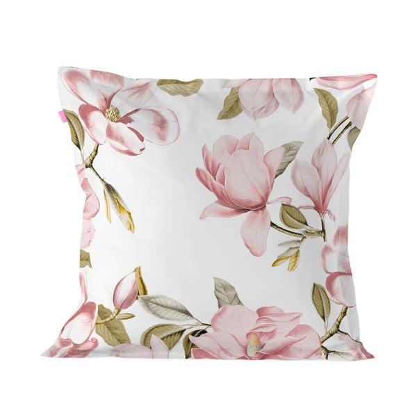 Poszewka na poduszkę z czystej bawełny Happy Friday Magnolia,60x60cm