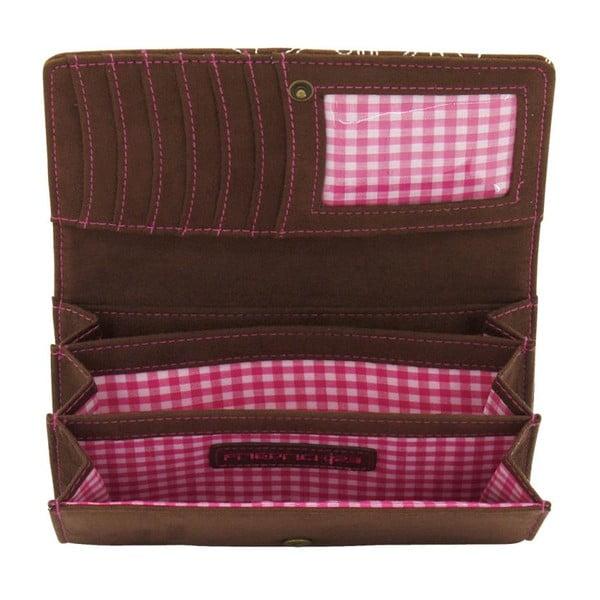 Portfel damski Bavaria Brown/Pink