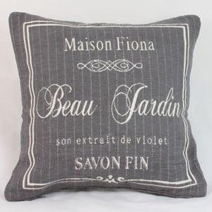 Poszewka na poduszkę Maison Fiona 40x40 cm, ciemna