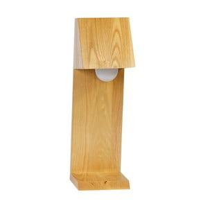 Lampa stołowa CASA, drewniana