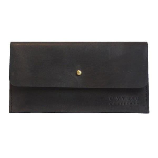 Skórzany portfel Pixies Pouch, ciemnobrązowy