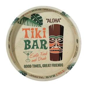 Okrągła taca Tiki Bar