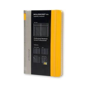 Żółty notatnik Moleskine Folio