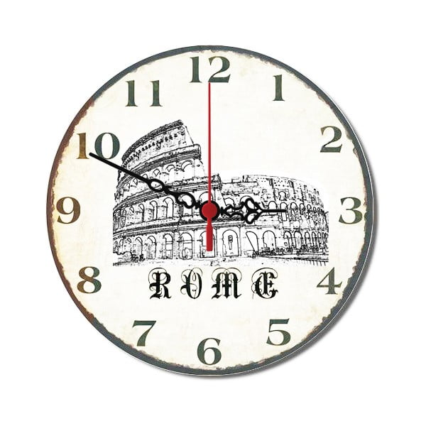Zegar ścienny Rome, 30 cm
