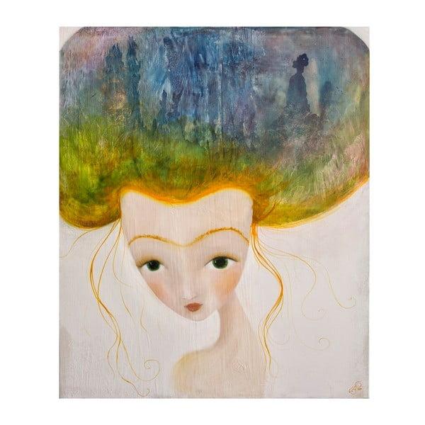 Plakat autorski: Léna Brauner Górzysta, 60x67 cm