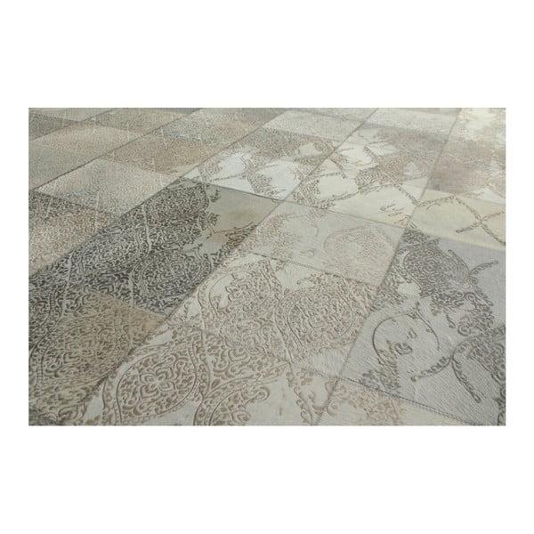 Srebrny dywan Viper, 200x300cm