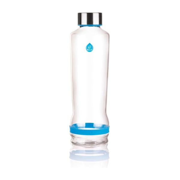 Szklana butelka Drop Cmyk Cyan, 0,57 l