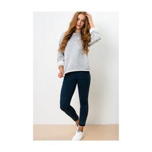 Szara bluza Lull Loungewear Raw Edge, rozmiar M