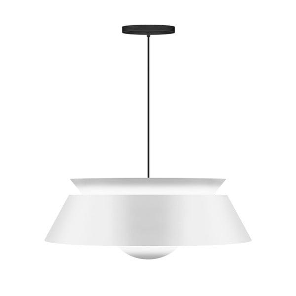Biała lampa wisząca VITA Copenhagen Cuna, Ø38cm