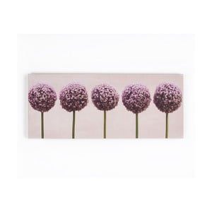 Obraz Graham & Brown Row Of Alliums, 100x40 cm
