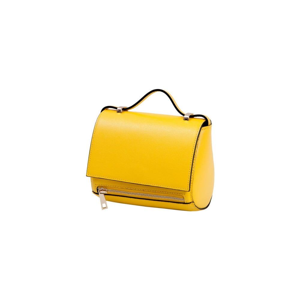 cef9d0295eb52 Żółta torebka skórzana Andrea Cardone Giosetta