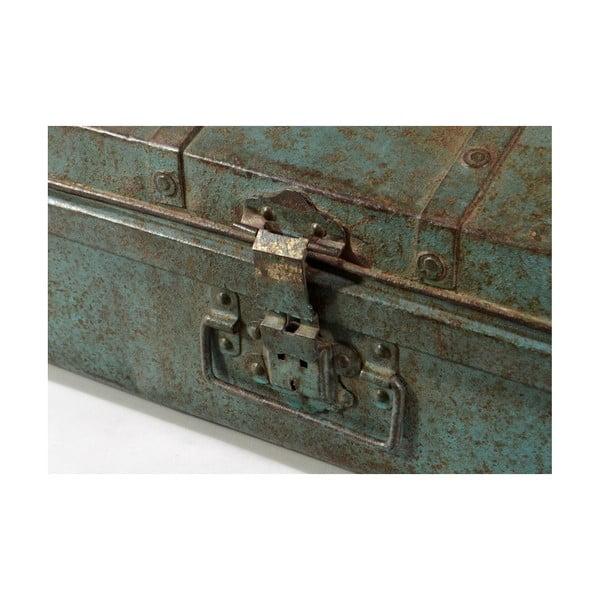 Skrzynia Orient 37x65 cm, niebieska