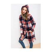 Płaszcz w kratkę Lull Loungewear Duffle, rozmiar XL