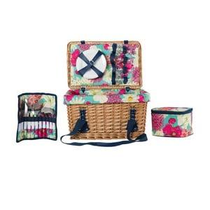 Zestaw piknikowy Floral dla 4 osób