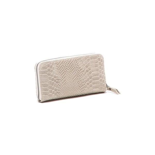 Skórzany portfel Mangotti 8001 Beige