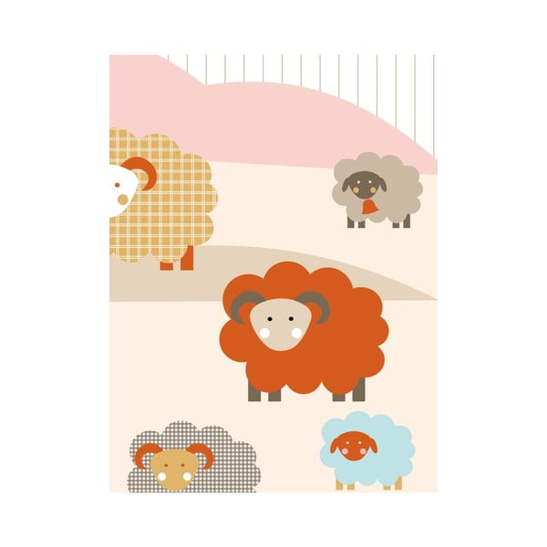 Fototapeta Sheep, 2.325x2.7 m