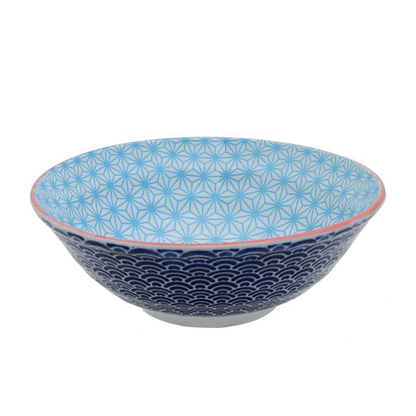 Porcelanowa miska Star Blue, 21 cm