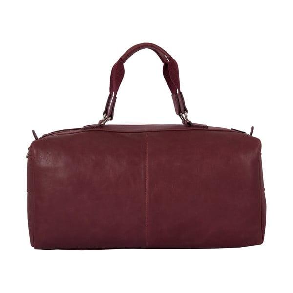 Męska torba podróżna Vintage Bordeaux