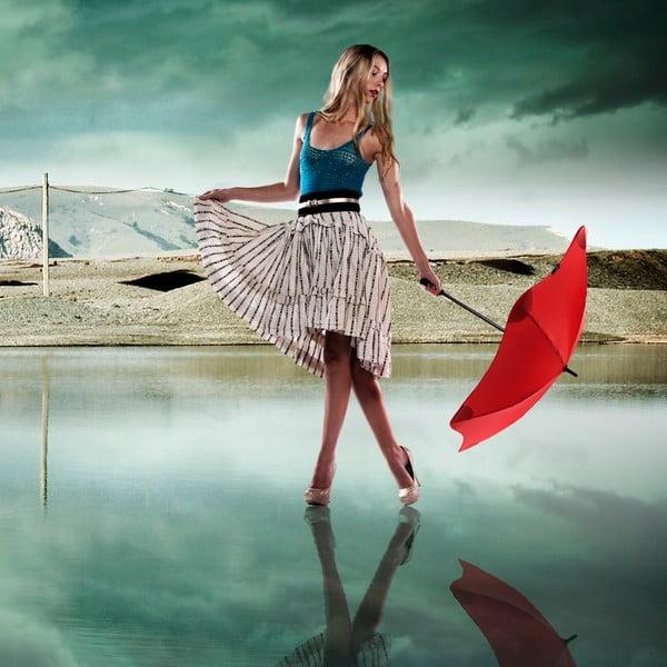 Super wytrzymały parasol Blunt Lite 110 cm, czerwony