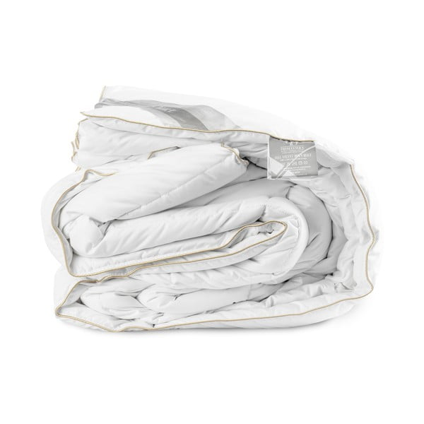 Kołdra wypełniona pierzem Velvet, 240x220 cm