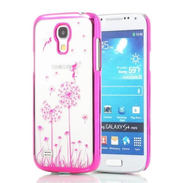 ESPERIA różowe etui z dmuchawcem na Samsung Galaxy S4 mini