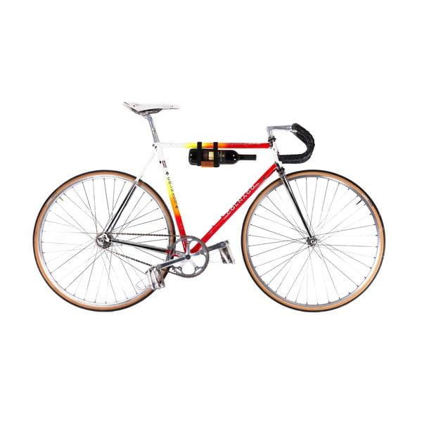 Uchwyt na butelkę wina na rower Pece Black